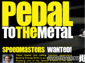 Скриншот флеш игры Pedal to the Metal